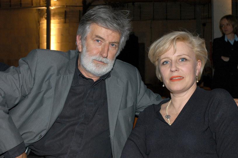 Krystyna Janda, Edward Kłosiński /Prończyk /AKPA
