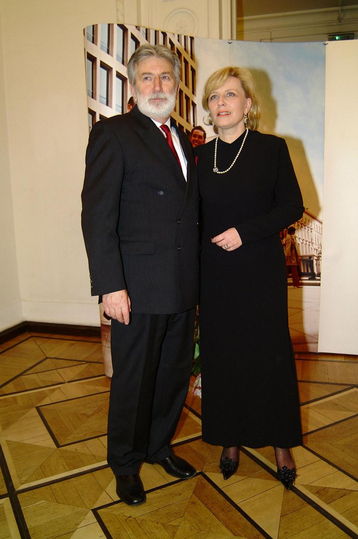 Krystyna Janda i Edward Kłosiński /Niemiec /AKPA