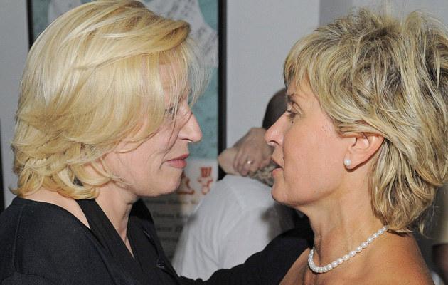 Krystyna Janda i Ewa Kasprzyk /- /East News