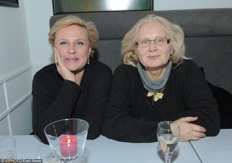 Krystyna Janda i Magda Umer/ WARSZAWA 21.10.2009 otwarcie restauracji Folmowej /East News