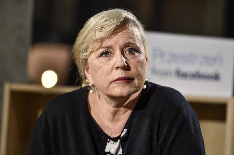 Krystyna Janda: Sytuacja aktorów jest podła /Gałązka /AKPA