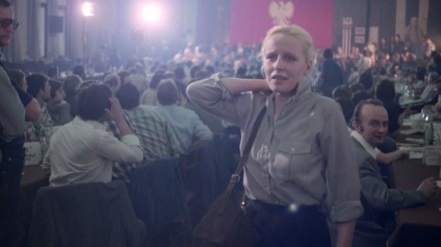 """Krystyna Janda w """"Człowieku z żelaza"""" /Studio Filmowe Zebra /Materiały prasowe"""