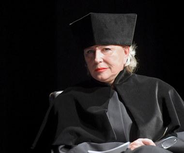 Krystyna Janda z tytułem doktora honoris causa Akademii Sztuk Teatralnych w Krakowie