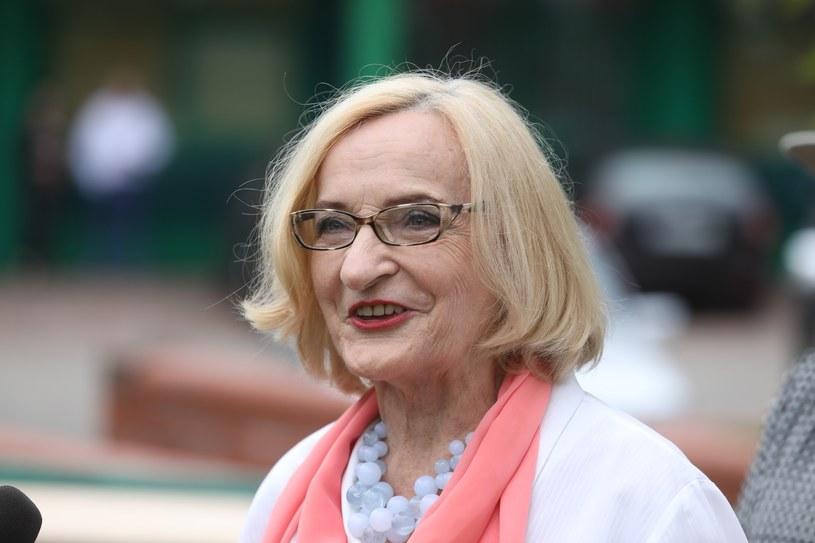 Krystyna Krzekotowska, kandydatka Światowego Kongresu Polaków /Piotr Molecki /East News
