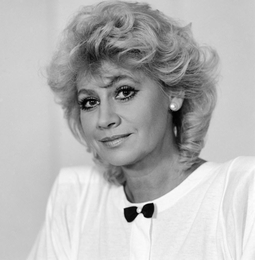 Krystyna Loska, 1988 r. /Piotr Cieśla /Agencja FORUM