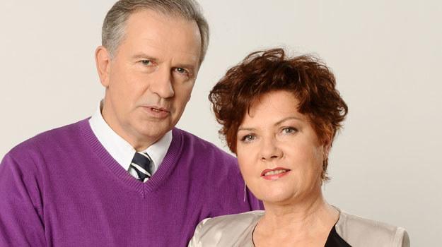 Krystyna Lubicz (Agnieszka Kotulanka) i jej mąż, Paweł Lubicz (Tomasz Stockinger) /Agencja W. Impact
