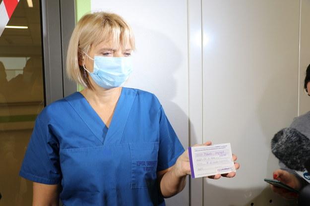 Krystyna Matusik /Jacek Skóra /RMF FM