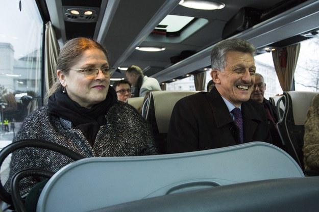 Krystyna Pawłowicz i Stanisław Piotrowicz /Andrzej Hulimka/Reporter /East News