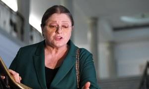 Krystyna Pawłowicz potwierdza: Przebywam w hotelu. To pobyt leczniczy