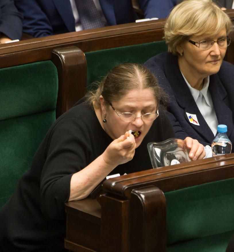 Krystyna Pawłowicz w Sejmie /Agencja FORUM