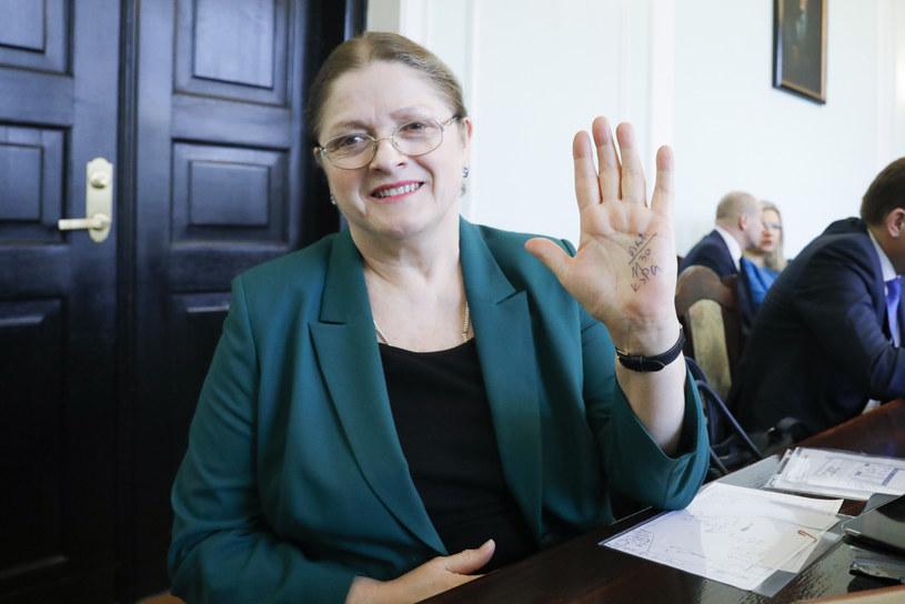 Krystyna Pawłowicz /Grzegorz Banaszak/REPORTER /Reporter
