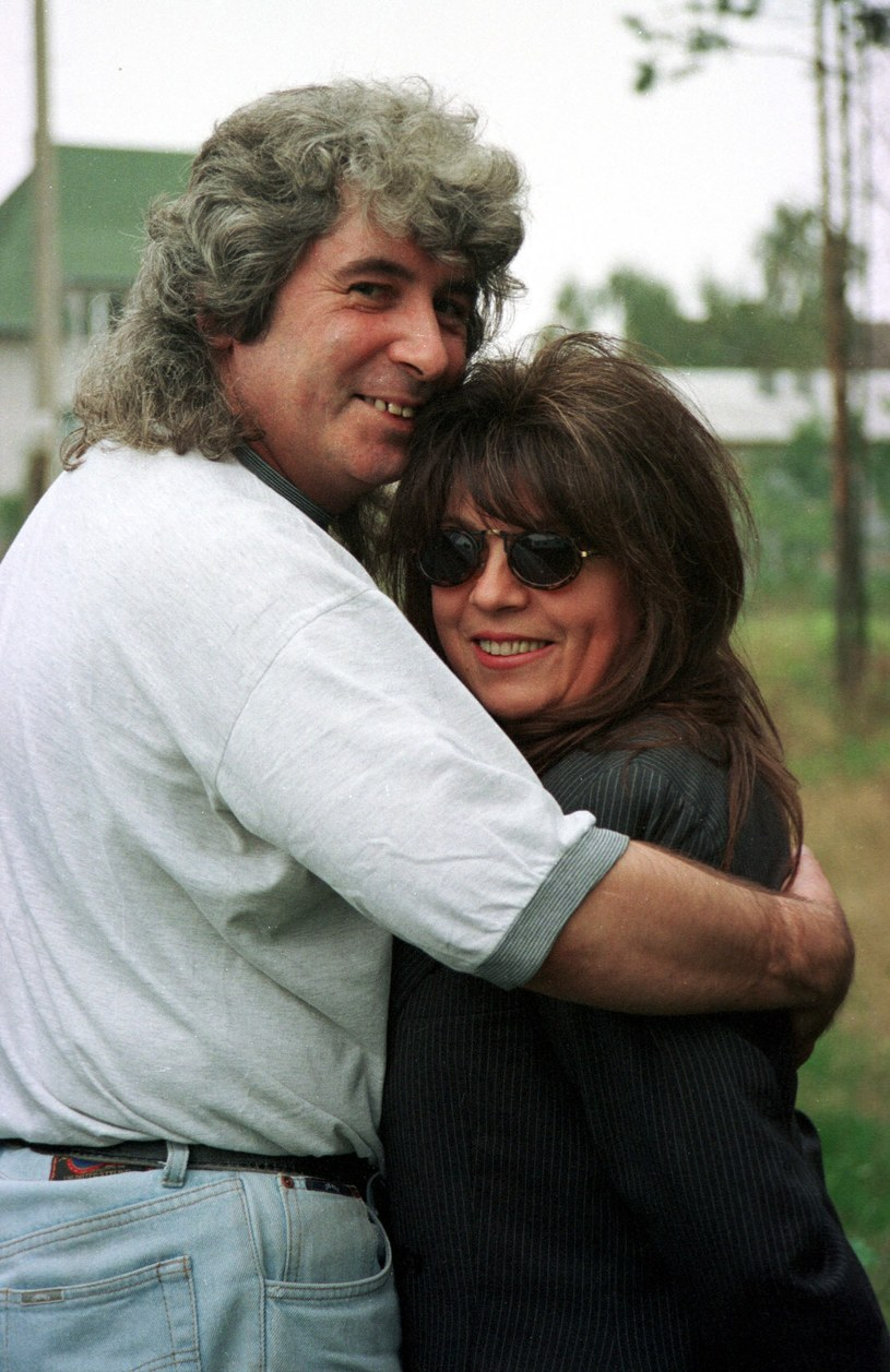 Krystyna Prońko i Janusz Koman, 1997 r., fot. AGMA /Agencja FORUM