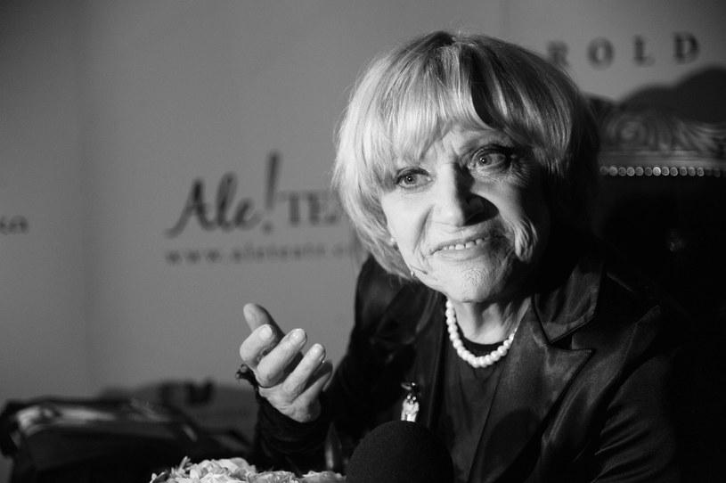 Krystyna Sienkiewicz (1935-2017) /AKPA