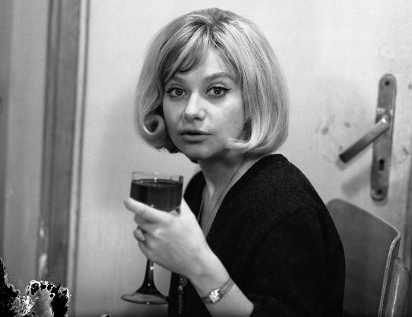 Krystyna Sienkiewicz w latach 60., fot. Sławek Biganski /Agencja FORUM