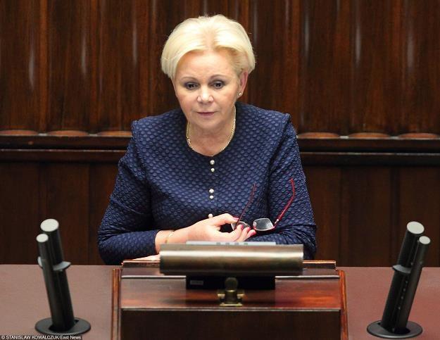 Krystyna Skowronska z PO. Fot. Stanisław Kowalczuk /Agencja SE/East News