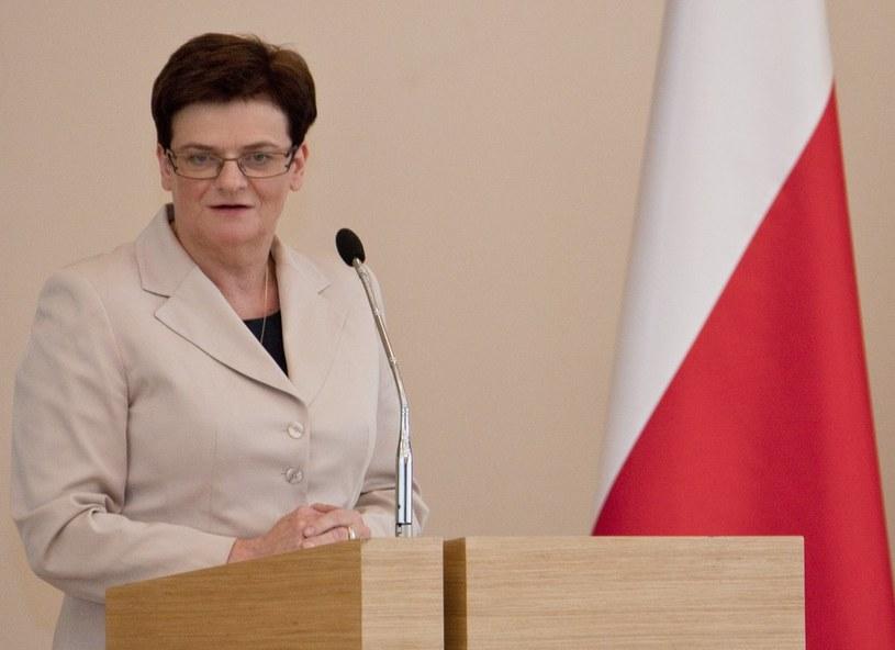 Krystyna Szumilas /Krystian Dobuszyński /Reporter