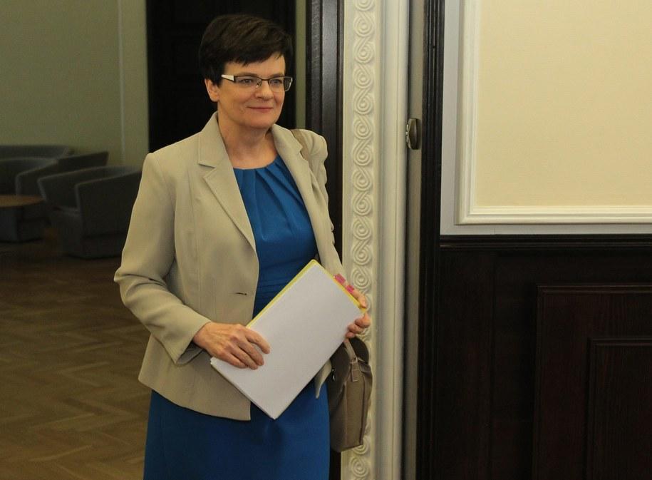 Krystyna Szumilas. /Radek Pietruszka /PAP/EPA