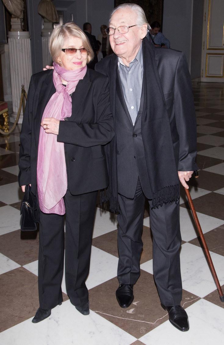 Krystyna Zachwatowicz i Andrzej Wajda /MWMedia