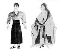 Krystyna Zachwatowicz, projekty kostiumów do spektaklu Y. Mishimy Mishima: Wachlarz, Stary Teatr, K /Encyklopedia Internautica