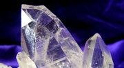 Kryształ górski lśniący, jak diament