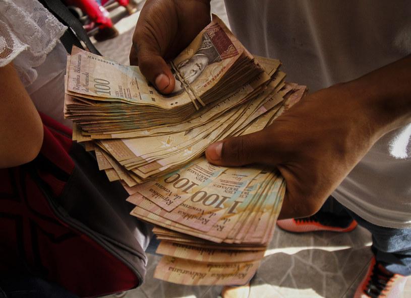 Kryzys gospodarczy w Wenezueli pogłębia się /SCHNEYDER MENDOZA /AFP