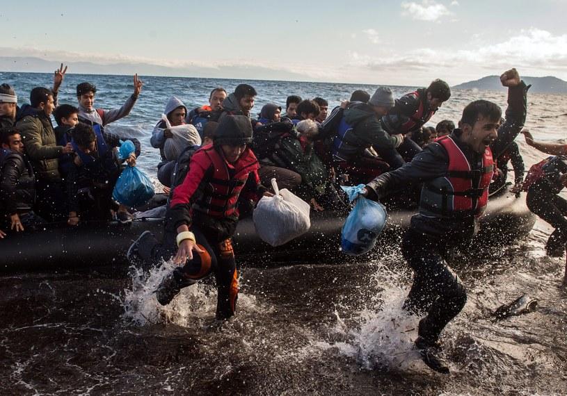 Kryzys migracyjny. Ponad sześć tysięcy osób dotarło do Grecji /PAP/EPA