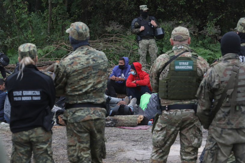 Kryzys na granicy polsko-białoruskiej / Artur Reszko    /PAP