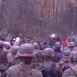 Kryzys na granicy: Siłowa próba przedarcia się migrantów. Dwóch żołnierzy w szpitalu