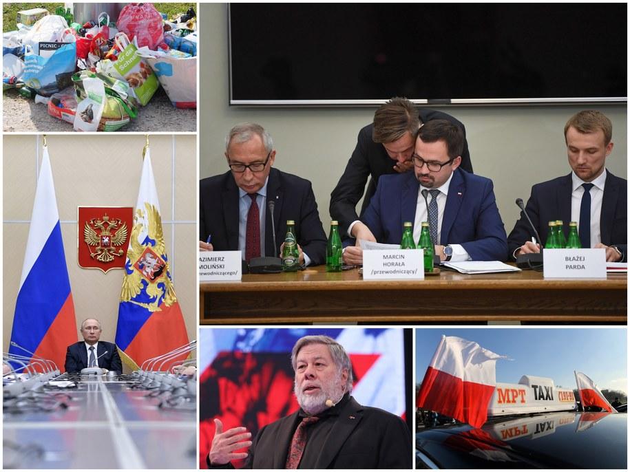 The crisis on the Ukraine-Russia line and the reports from the meeting of the VAT Committee were the main themes of the day / SHAWN THEW / ALEXEY NIKOLSKY / SPUTNIK / KREMLIN POOL / Jacek Turczyk / Bartłomiej Zborowski / Paweł Supernak / Pixabay / PAP / EPA