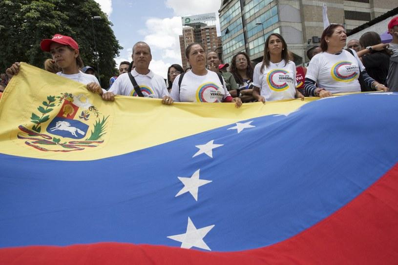 Kryzys w Wenezueli /NATHALIE SAYAGO /PAP/EPA