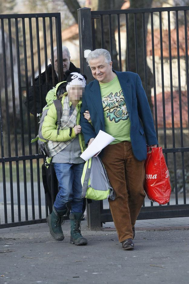 Krzystzof Zuber z córką /Artur Hojny /East News