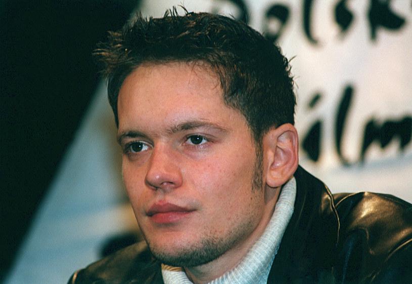Krzysztof Antkowiak, 2002 rok /Prończyk /AKPA