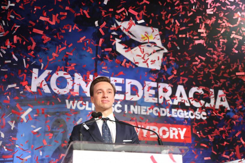 Krzysztof Bosak, kandydat Konfederacji w wyborach prezydenckich w 2020 roku /Piotr Molecki /East News