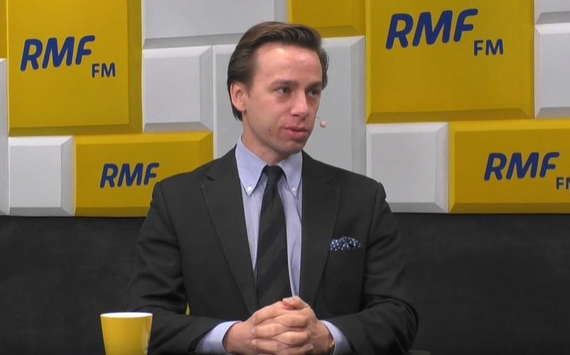 Krzysztof Bosak w RMF FM /RMF