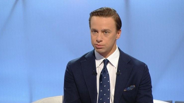 """Krzysztof Bosak w """"Śniadaniu w Polsat News"""" /Polsat News"""
