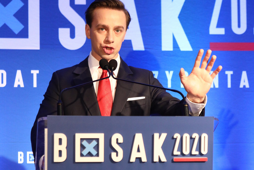 Krzysztof Bosak /Tomasz Jastrzebowski/REPORTER /East News