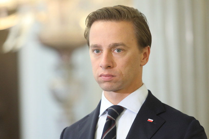 Krzysztof Bosak /Fot Tomasz Jastrzebowski /Reporter