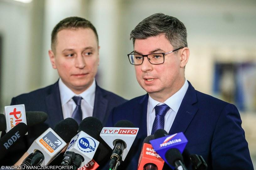 Krzysztof Brejza i Jan Grabiec /Andrzej Iwańczuk /East News