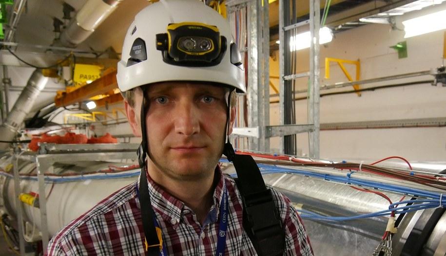 Krzysztof Brodziński - CERN /Grzegorz Jasiński /RMF FM