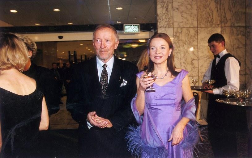 Krzysztof Chamiec i Laura Łącz /AKPA