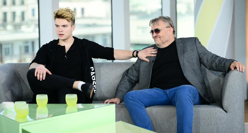 Krzysztof Cugowski razem z synem Krzysztofem Cugowskim Juniorem /Wojtek Olszanka /East News