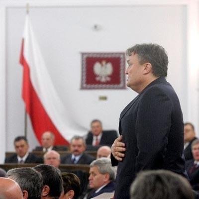Krzysztof Cugowski składa przysięgę w Senacie - fot. Michał Rozbicki /Agencja SE/East News