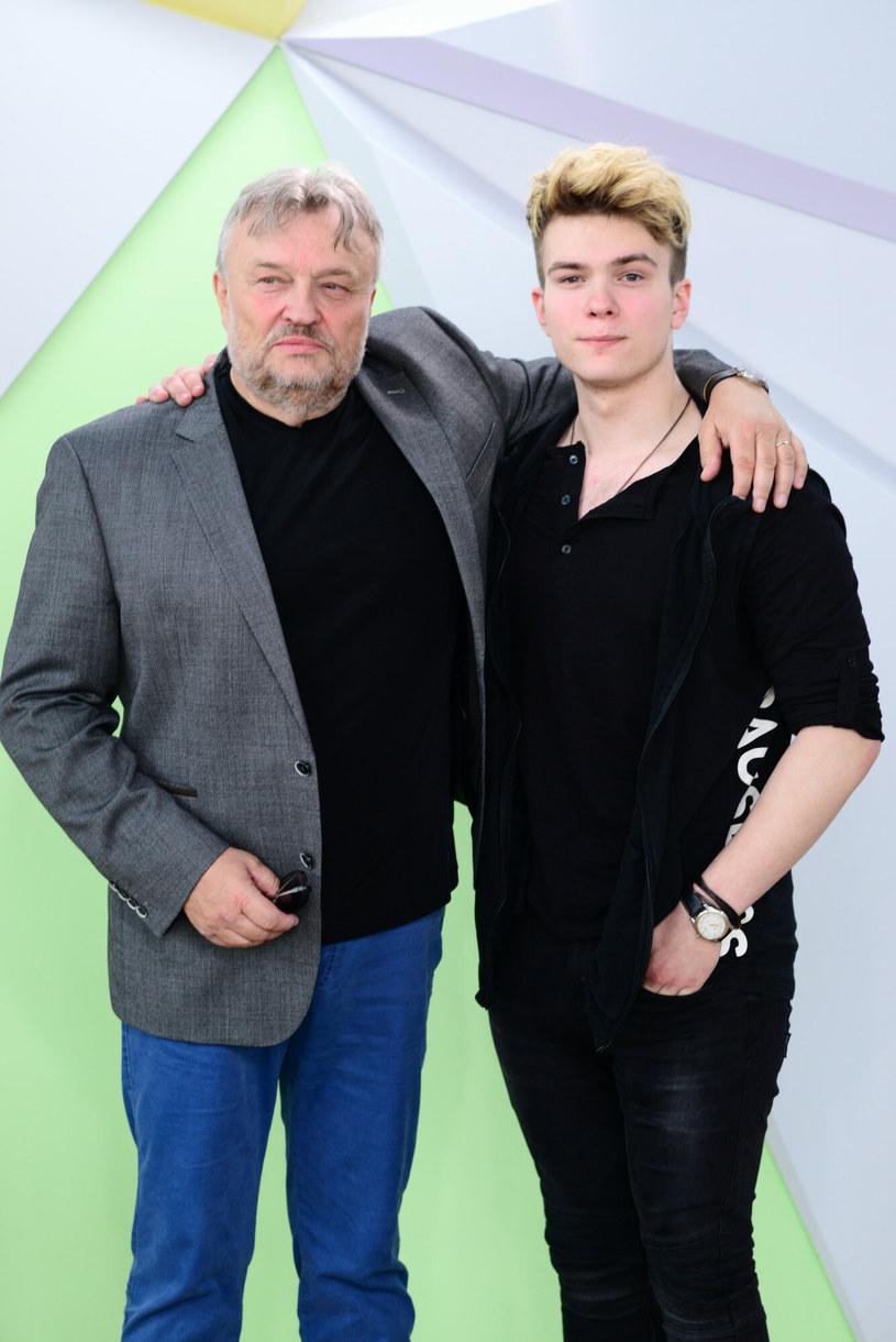 Krzysztof Cugowski z najmłodszym synem /Wojtek Olszanka/DDTVN /East News