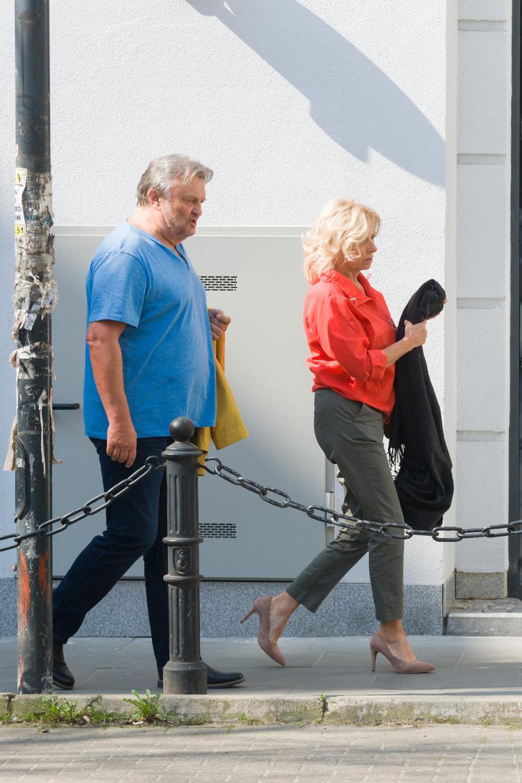 Krzysztof Cugowski z żoną /Artur Zawadzki /East News