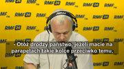 Krzysztof Czabański o zakazie kolców na ptaki: Chodzi o to, żeby one nie raniły, nie zabijały ptaków. Można sobie wyobrazić kolce o tępych końcach