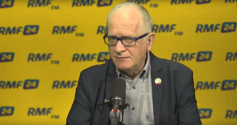 Krzysztof Czabański w studiu RMF FM /RMF