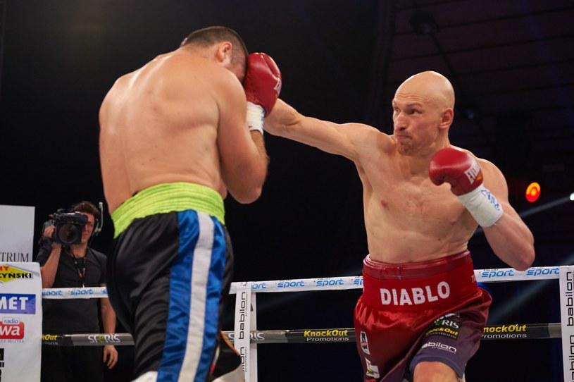 """Krzysztof """"Diablo"""" Włodarczyk żałuje, że roztrwonił swój majątek /fot. Piotr Duszczyk /East News"""