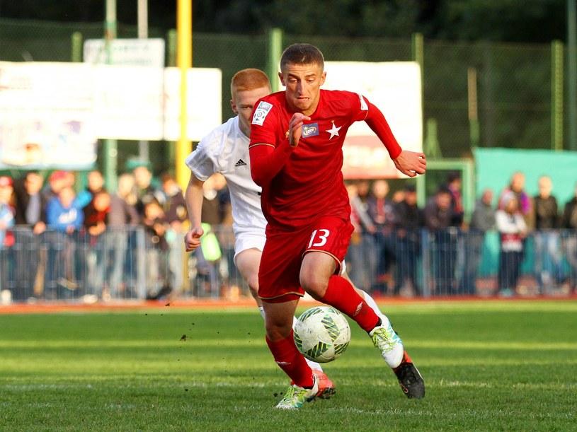 Krzysztof Drzazga tu jeszcze w barwach poprzedniego klubu /Krzysztof Porębski /Newspix