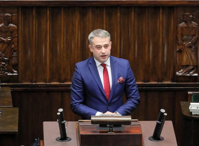 Krzysztof Gawkowski w Sejmie /PAP/Paweł Supernak /PAP
