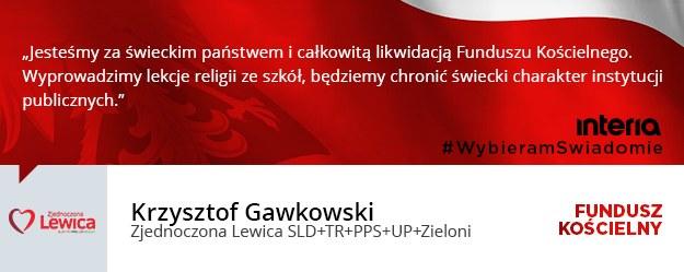 Krzysztof Gawkowski /INTERIA.PL